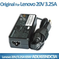 Alibaba China 65w power supplies square laptop power jack ac 100-240v to dc 20v 3.25a adapter