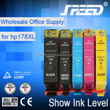 Wholesale Price Recycled Ink Cartridges for HP 178 with New Chip
