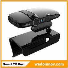 100% Original Smart TV Box HD22 decoder box cable tv Android 4.2 OS Dual core internet smart tv box with webcam