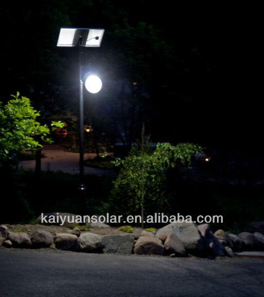 15w 4m 태양 정원 램프 혁신