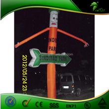 2012 New Design Custom Giant Arrow Inflatable/Advertising Inflatable Air Dancer,Single Leg Advertising Inflatable Sky Dancer