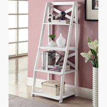 Ladder Book Shelf Shelves Wine Rack Storage Organizer Drawer Knick-Knacks Holders