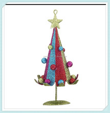 metal colorful christmas tree
