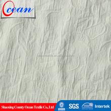 chinese brocade stretch cotton fabric dress, cotton white fabric roll