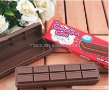 Fashion New simulation chocolate storage case / plastic smiggle pencil case