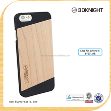 Alibaba China for wood case iphone,back cover for wood iphone 6,PC wood for iphone 6 case
