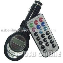 USB/SD/MMC Car MP3 Player With FM Transmiter