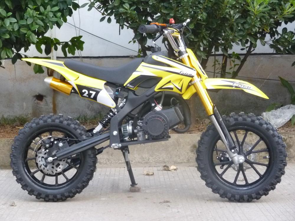 Kids Gas Powered Dirt Bike For Sale 2 Stroke Sq Db01