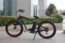 buy 26'' electric fat tire bike beach cruiser in china