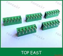 2EDG-5.08R / V opening and closing straight needle looper plug 5.08MM pitch black green orange