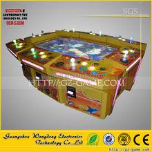 6 /8/10 players fishing gambling machine/ King of treasure arcade video game machine