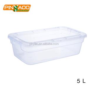 사용자 정의 공장 가격 가정용 투명한 플라스틱 신발 상자