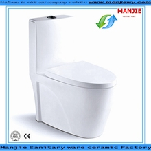 MJ-3507 Chaozhou factory hot sales wc toilet sanitary ceramic toilet bowl siphonic one-piece toilet