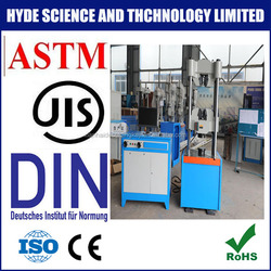 electronic hydraulic universal tensile strength testing machine