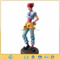 customized plastic anime hunter X hunter HISOKA Action Figure, 3d pvc vinyl action figure,pvc vinyl figure toy