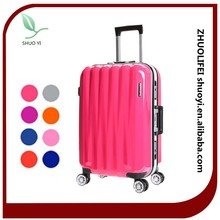 abs pc luggage 2015 luggage factory abs pc luggage trolley sets