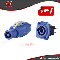 Made in China Alibaba YF-24 Power Connector Waterproof IP44 Blue Electrical Plug and Socket