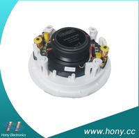 6.5 inch mini ceiling speake 100v coaxial with high quality