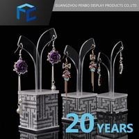Free Samples Customized Product Display Acrylic Earring Display Stand