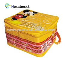 fashinable picnic cooler bag with picnic mat