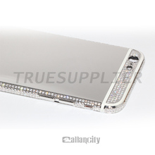 Luxury 24k limit edition for iphone 6 platinum plating mirror housing