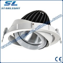 new look better quality led cob downlight adjustable one/two/three lamps CE