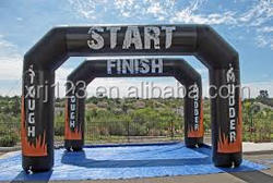 Shenzhen factory customzied inflatable arch for race gate