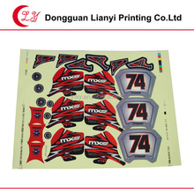 2015 custom sticker various colors whole set of special shapes good self adhesive die cut label sticker for toys and decoration