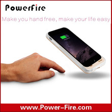 High quality 3200mah external battery case for iphone 6,backup battery case,battery charger case in alibaba hot sell
