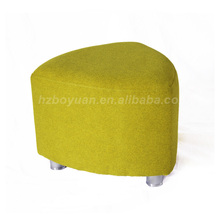 Wholesale low price high quality ottoman with metal legs