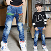 2015 cool fashion new products baby clothes denim robin jeans for kids for boys wholesale