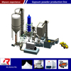 use calcining furnace for gypsum powder production with PLC control