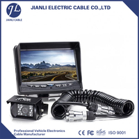High Pressure 7 pin trailer cable truck cable trailer connector cable