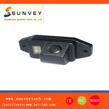 Sunvey CE certification the best hidden night vision waterproof reverse car camera for Toyota Prado