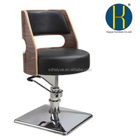 Factory salon chair suppliers / salon chair suppliers footrest hairdressing haircut chair / wholesale beauty salon furniture