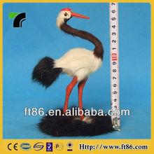mini realistic garden decorative custom cute ostrich figurine