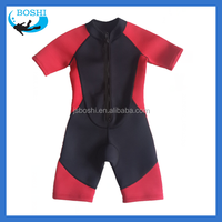 custom lycar suit 3.0mm smooth skin neoprene fabric wetsuit for kids
