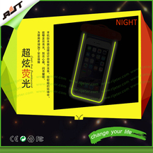 best selling durable mobile waterproof phone bag case for iphone, for smart phone glow in the dark mobile mobile phone case