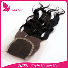 Uprocessed 100% Virgin 3.5X4 lace front closure brazilian body wave