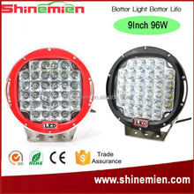 high performance 4x4 offroad 96w led driving light 96w led driving lights