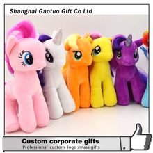 Custom pony cute plush toy for gift