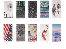 Wallet leather case for Huawei Ascend P8 lite