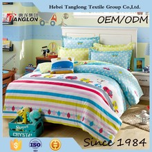 China manufacturer 100% cotton printed bedding set for teenagers