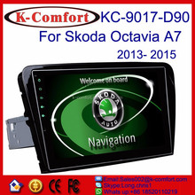 K-comfort Android car dvd player for VW Skoda Octavia A7 with SWC GPS + Radio + RDS BT+ SD + USB CD/DVD IPOD Aux-in 10.2 inch
