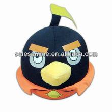 OEM Wholesale 6 styles Anime animal birds Plush Doll TOYS Black Bird Many styles