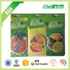 Good quality Promotional Make Hanging Paper Air Freshener/New Fashion Car Paper Air Freshener
