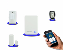 Wireless 868mhz burglar system Home Security Alarm