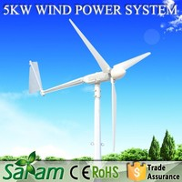 5kw small wind generator parts