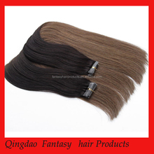 Sliky Straight ombre Color Human Hair,Wholesale Price 100% Hair Extension