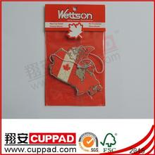 2014 newly design JQ061 card paper air freshener